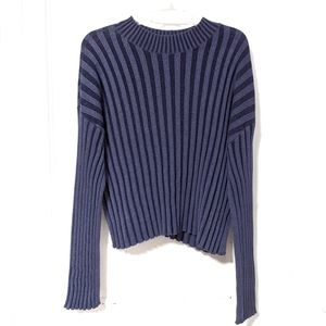 BP Nordstrom Shadow Rib Crop Sweater sz M